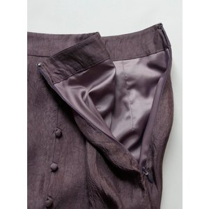 TODAYFUL  トゥデイフル Frontbutton Satin Skirt  19秋冬.予約 11920813 タイトスカート フロントボタンサテンスカート サテン シンプル|hearty-select|07
