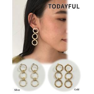 TODAYFUL  トゥデイフル Three Circle Pierce  19秋冬.予約 11920949|hearty-select