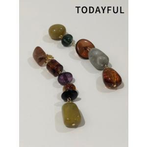 TODAYFUL  トゥデイフル Mix Stone Pirce  19秋冬.予約 11920964|hearty-select