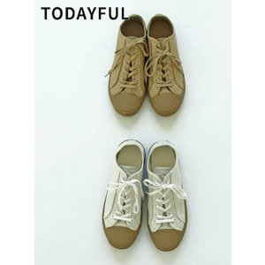 TODAYFUL  トゥデイフル Canvas Sneakers  19秋冬予約 11921003|hearty-select