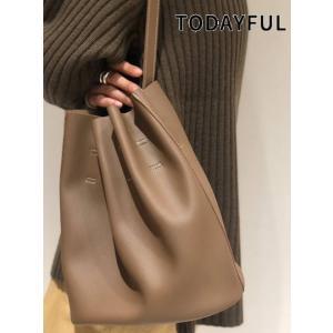 TODAYFUL  トゥデイフル Stitch Gather Bag  19秋冬.予約 11921009 ハンド・ショルダーバッグ|hearty-select