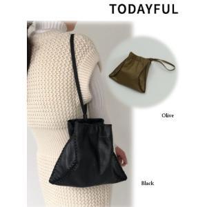 TODAYFUL  トゥデイフル Softleather Embroidery Bag  19秋冬.予約 11921060 ハンド・ショルダーバッグ|hearty-select