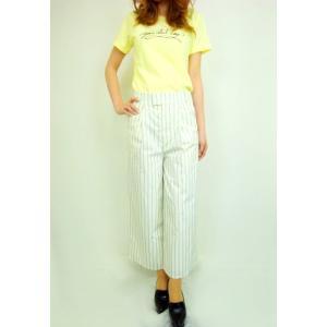 セール60%OFF BannerBarrettバナーバレット ストライプワイド パンツ  15春夏. 15106238|hearty-select