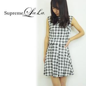 SALE50%OFF Supreme.La.La(シュープリームララ)レースチェックキュロットパンツ  15春夏.【152-PN006】|hearty-select