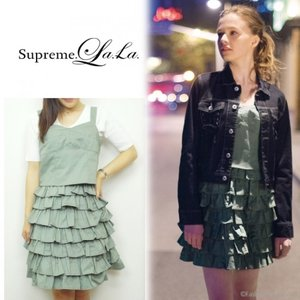 SALE60%OFF Supreme.La.La(シュープリームララ)フリルジャンスカ  16春夏【161-OP008】|hearty-select
