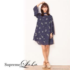 夏セール70%OFF! Supreme.La.La(シュープリームララ)ヴィンテージコバナフレアワンピ  17春夏【171-OP008】|hearty-select
