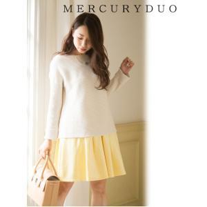 MERCURYDUOマーキュリーデュオ タックシャイニースカート  17春夏 1720800601 hearty-select