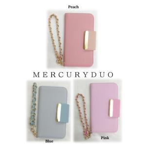 MERCURYDUOマーキュリーデュオ バイカラーiPhoneケース  17春夏 1721000701 hearty-select