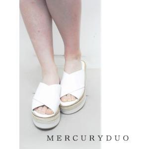 MERCURYDUOマーキュリーデュオ クロスジュートサンダル  17春夏 1721800901 hearty-select