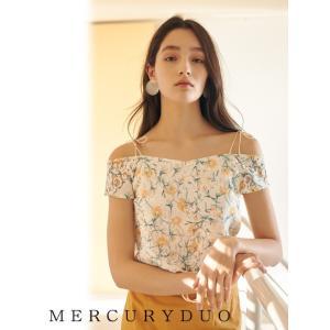 MERCURYDUOマーキュリーデュオ レースフラワーブラウス  17春夏. 1730402001 hearty-select