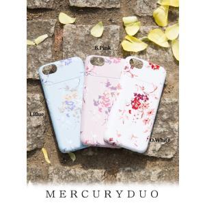 MERCURYDUOマーキュリーデュオ カラフルフラワーiPhoneケース  17春夏. 1731001201 hearty-select