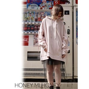 Honey mi Honey (ハニーミーハニー)laceup parka  17秋冬予約【17A-AB-07】|hearty-select