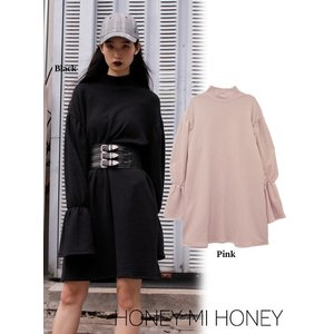 Honey mi Honey (ハニーミーハニー)sweat one-piece  17秋冬予約【17A-AB-09】|hearty-select