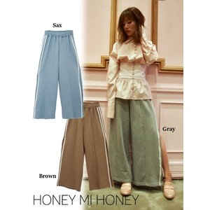 Honey mi Honey (ハニーミーハニー)line sweat pants  17秋冬予約【17A-AB-12】|hearty-select
