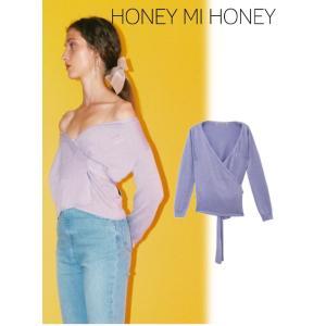 セール60%OFF Honey mi Honey  ハニーミーハニー cache-coeur knit  18秋冬 18A-SW-01受注会|hearty-select