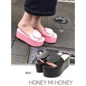 セール50%OFF  Honey mi Honey  ハニーミーハニー moon sandal  18春夏 18S-AC-02|hearty-select