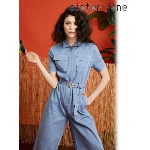 セール50%OFF  sister jane シスタージェーン Denim Boiler suit  18秋冬 18SJ00JS055|hearty-select