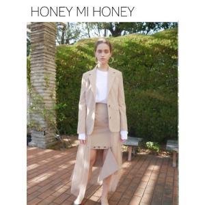30%OFF Honey mi Honey ハニーミーハニー  tulle jacket  19春夏 19S-TA-22 ジャケット  定価 30000円|hearty-select