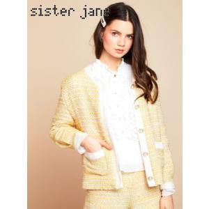 10%OFF sister jane シスタージェーン  Hey Honey Tweed Jacket  19春夏. 19SJ02JK058 ジャケット  定価 16800円|hearty-select