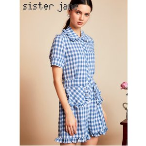 12%OFF! sister jane シスタージェーン  Table Manners Playsuit  19春夏. 19SJ02JS061 オールインワン・コンビネゾン 定価 13800円|hearty-select