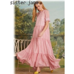 12%OFF! sister jane シスタージェーン  Lucky Lawn Tiered Maxi Dress  19春夏. 19SJ03DR1084 マキシワンピース 定価 17800円|hearty-select