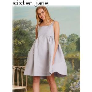 12%OFF! sister jane シスタージェーン  Pansy Puff Dress  19春夏. 19SJ03DR1088 フレアワンピース 定価 15800円|hearty-select