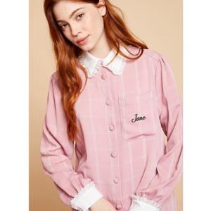 sister jane シスタージェーン Check Jane Smock Shirt  19秋冬予約 20SJ0BL862|hearty-select