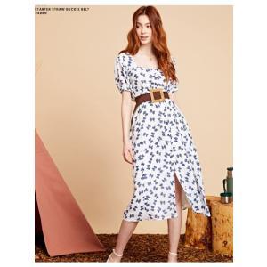 sister jane シスタージェーン Bow Print Midi Dress   19秋冬予約 20SJ0DR1108|hearty-select