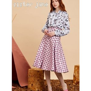 sister jane シスタージェーン Wild Horse Box Pleat Midi Skirt  19秋冬予約 20SJ0SK332|hearty-select
