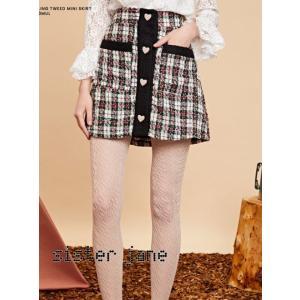 sister jane シスタージェーン Mini Skirt in Tweed  19秋冬予約 20SJ0SK333|hearty-select