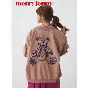 30%OFF merry jenny メリージェニーteddy刺繍ブルゾン  19春夏予約 281910100101 定価10900円|hearty-select
