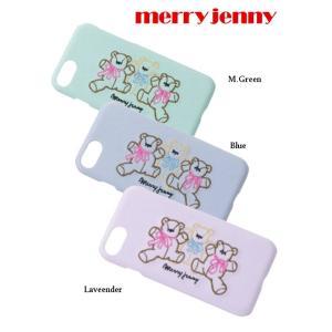 30%OFF merry jenny メリージェニー  teddy刺繍iPhoneケース  19春夏 281911000601 iPhone・iPadケース iphone6/6S/7/8対応  定価 3500円|hearty-select