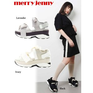 12%OFF! merry jenny  メリージェニー リボンスニーカーサンダル  19秋冬 281941802001 サンダル|hearty-select