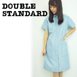 SALE60%OFF DOUBLE STANDARD 【Sov.】シルバーデニムワンピース  15春夏.【3108252】|hearty-select