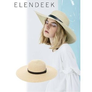 セール50%OFF  ELENDEEK エレンディーク BOATER LINE HAT  18春夏 511821009991|hearty-select