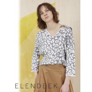 セール50%OFF  ELENDEEK エレンディーク LEワンピースARD ニットプルオーバー  18春夏. 511822603201|hearty-select