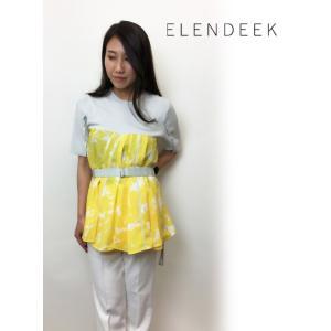 セール50%OFF  ELENDEEK エレンディーク FLOWER  パンツ ブラウスOKING ニット  18春夏. 511832622501|hearty-select