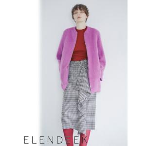 セール70%OFF ELENDEEK エレンディーク CHECK WAVE スカート  18秋冬 511840820901|hearty-select