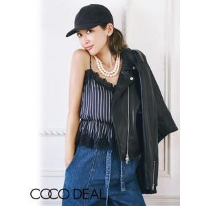 COCO DEAL(ココディール)合皮レザーライダース  17秋冬【77614181】|hearty-select
