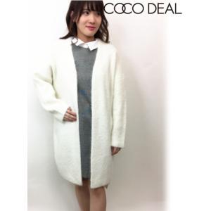 セール50%OFF  COCODEAL ココディール フェザーロングガウン  18秋冬. 78733274 カーディガン hearty-select