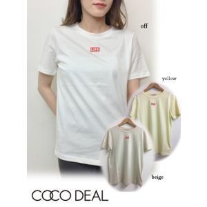 50%OFF COCODEAL  ココディール LIFEコラボ Tシャツ  19春夏 79121009 Tシャツ 19ssfs 定価5800円 hearty-select