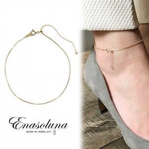 Enasoluna エナソルーナ Loop anklet AN-1276 母の日 プレゼント ギフト ブレスレット・アンクレット|hearty-select