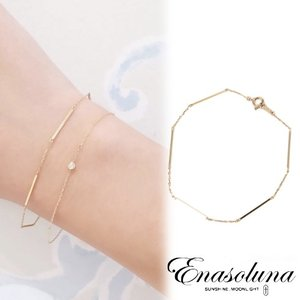 Enasoluna(エナソルーナ)Shining road bracelet 【BS-1039】|hearty-select