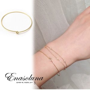 Enasoluna(エナソルーナ)Single dia bracelet 【BS-1115】|hearty-select