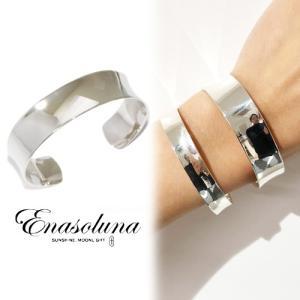 Enasoluna エナソルーナ Curvy bangle 'M' BS-1388 母の日 プレゼント ギフト Enasoluna(エナソルーナ)|hearty-select