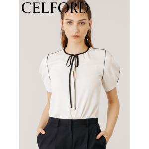 CELFORD  セルフォード パイピングボウタイブラウス  19秋冬 CWFB194043 シャツ・ブラウス hearty-select