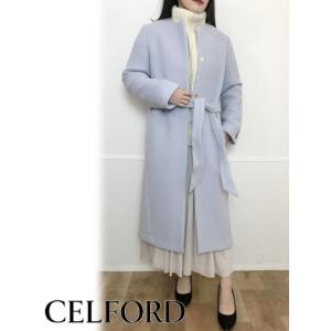★model:152cm/36(S)★ 2019秋冬 CELFORD (セルフォード) ベルト付きノ...