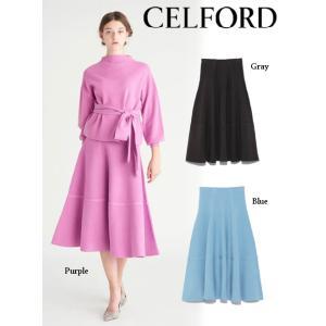 40%OFF CELFORD セルフォード  マーメイドニットスカート  18秋冬. CWNS185093 タイトスカート|hearty-select