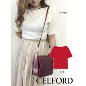50%OFF  CELFORD セルフォード シルクウールニットプルオーバー  18秋冬 CWNT184078|hearty-select