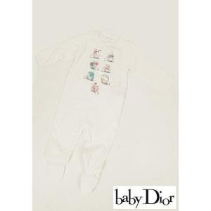 Dior BABYディオールベイビー カップケーキ柄ロンパース|hearty-select